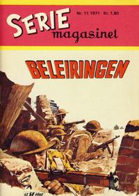 Cover Thumbnail for Seriemagasinet (Serieforlaget / Se-Bladene / Stabenfeldt, 1951 series) #11/1971