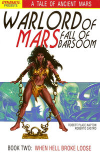 Cover Thumbnail for Warlord of Mars: Fall of Barsoom (Dynamite Entertainment, 2011 series) #2
