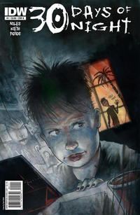 Cover Thumbnail for 30 Days of Night (IDW, 2011 series) #1 [Cover B Sam Kieth]