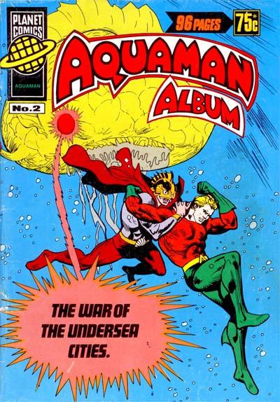 Cover for Aquaman Album (K. G. Murray, 1978 series) #2
