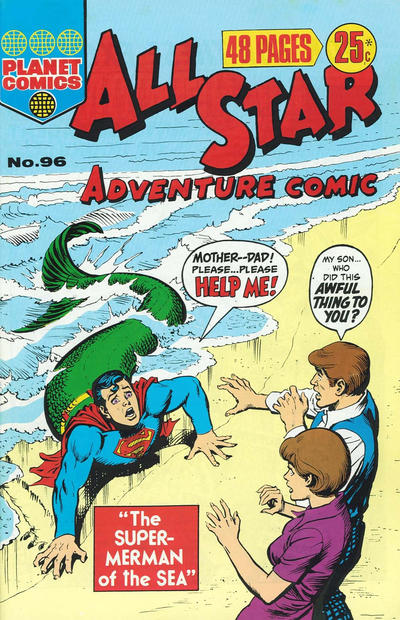 Cover for All Star Adventure Comic (K. G. Murray, 1959 series) #96