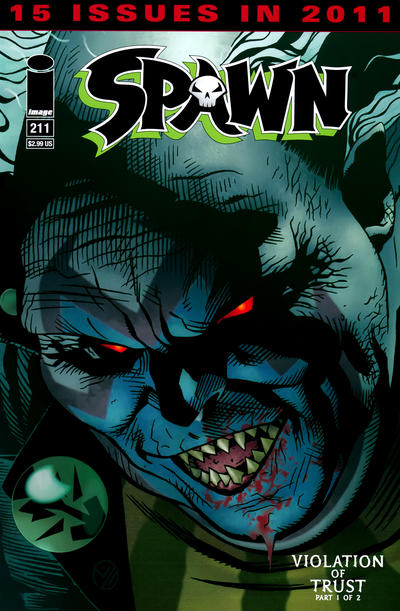 Cover for Spawn (Image, 1992 series) #211