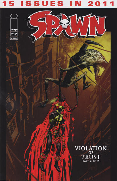 Cover for Spawn (Image, 1992 series) #212