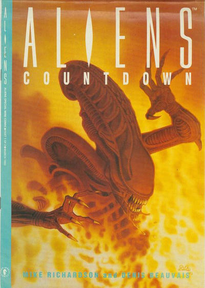 Cover for Aliens: Countdown (Dark Horse, 1993 series) #1
