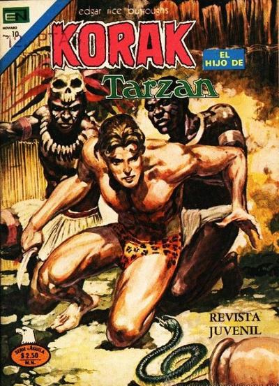 Cover for Korak (Editorial Novaro, 1972 series) #44