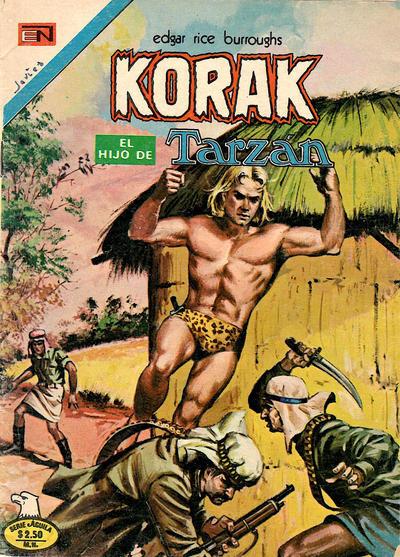 Cover for Korak (Editorial Novaro, 1972 series) #47