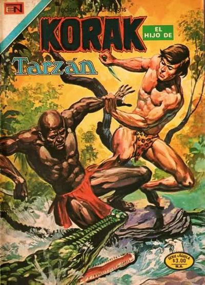 Cover for Korak (Editorial Novaro, 1972 series) #54