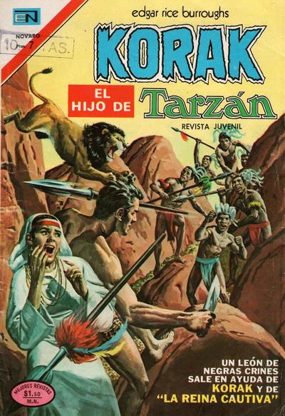 Cover for Korak (Editorial Novaro, 1972 series) #18