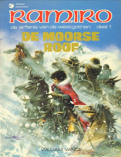 Cover for Ramiro (Dargaud Benelux, 1979 series) #7 - De Moorse roof