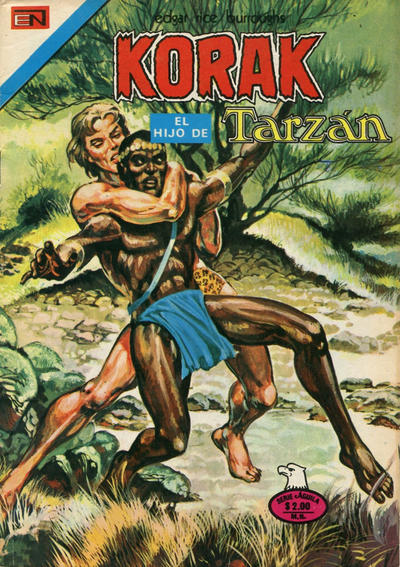 Cover for Korak (Editorial Novaro, 1972 series) #42