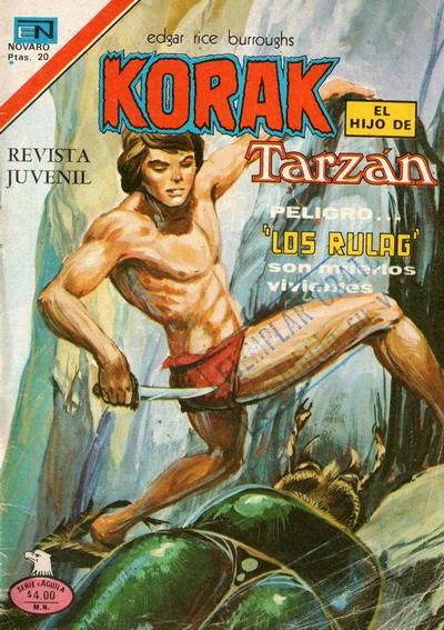Cover for Korak (Editorial Novaro, 1972 series) #70