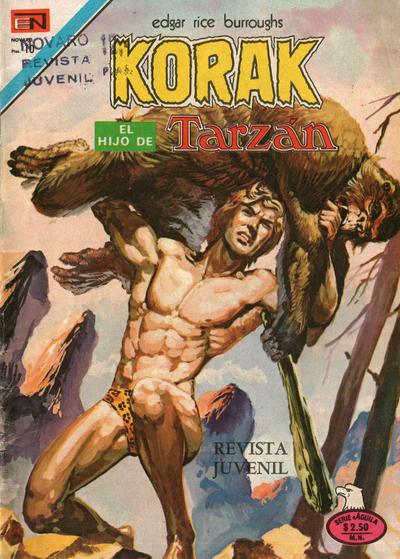 Cover for Korak (Editorial Novaro, 1972 series) #45