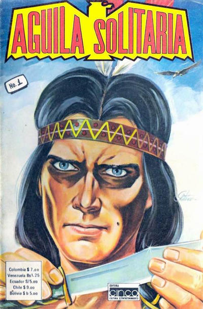 Cover for Aguila Solitaria (Editora Cinco, 1976 ? series) #1