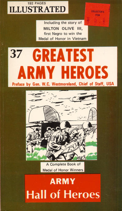 Cover for 37 Greatest Army Heroes (A. S. Curtis, 1969 series) #[nn]