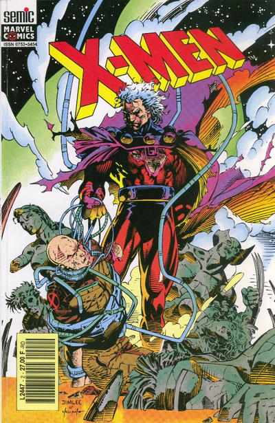 Cover for X-Men (Semic S.A., 1992 series) #2