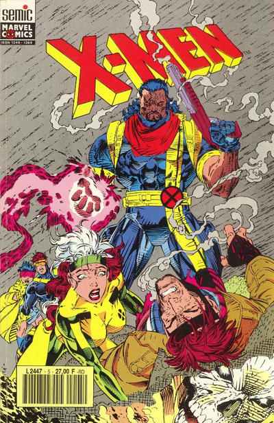 Cover for X-Men (Semic S.A., 1992 series) #5