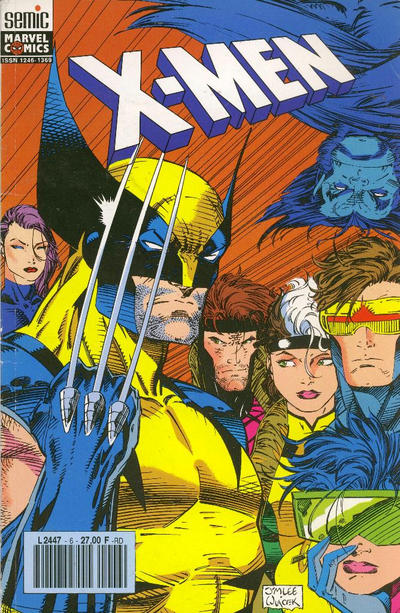 Cover for X-Men (Semic S.A., 1992 series) #6