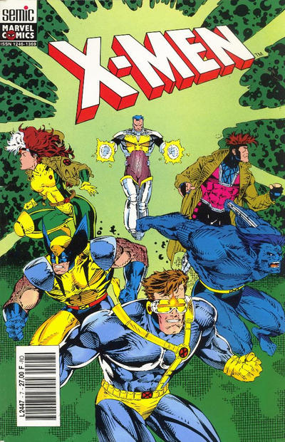 Cover for X-Men (Semic S.A., 1992 series) #7