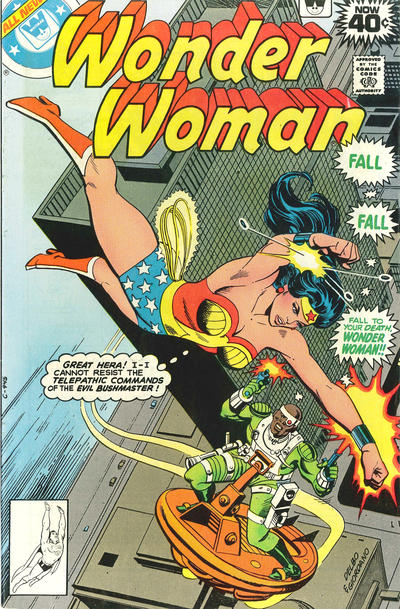 Cover for Wonder Woman (DC, 1942 series) #255 [Whitman]