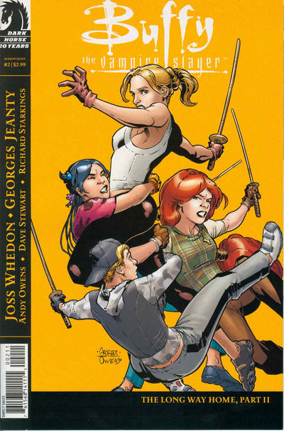 Cover for Buffy the Vampire Slayer Season Eight (Dark Horse, 2007 series) #2 [Second Printing]