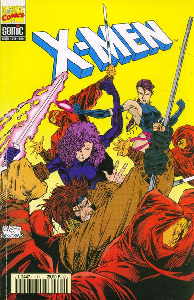 Cover for X-Men (Semic S.A., 1992 series) #11