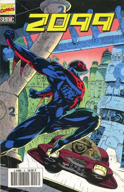 Cover for 2099 (Semic S.A., 1993 series) #8