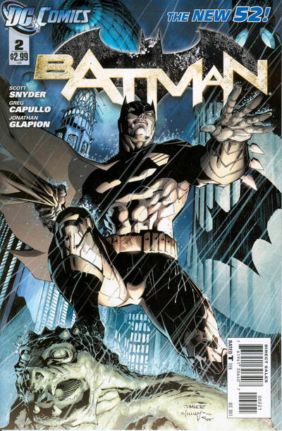 Cover for Batman (DC, 2011 series) #2 [Greg Capullo Sketch Cover]