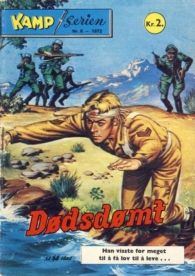 Cover for Kamp-serien (Serieforlaget / Se-Bladene / Stabenfeldt, 1964 series) #6/1972