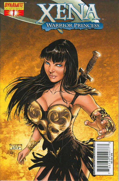 Cover for Xena (Dynamite Entertainment, 2006 series) #1 [Billy Tan Cover]