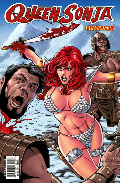 Cover for Queen Sonja (Dynamite Entertainment, 2009 series) #18 [Carlos Rafael Cover]
