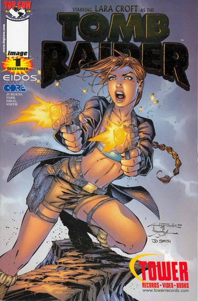 Cover for Tomb Raider: The Series (Image, 1999 series) #1 [Andy Park Standard Cover]