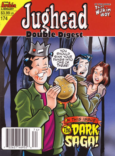 Cover for Jughead's Double Digest (Archie, 1989 series) #174