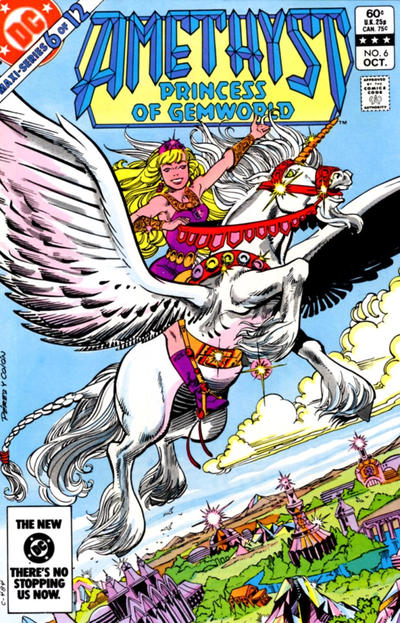 Cover for Amethyst, Princess of Gemworld (DC, 1983 series) #6 [Direct]