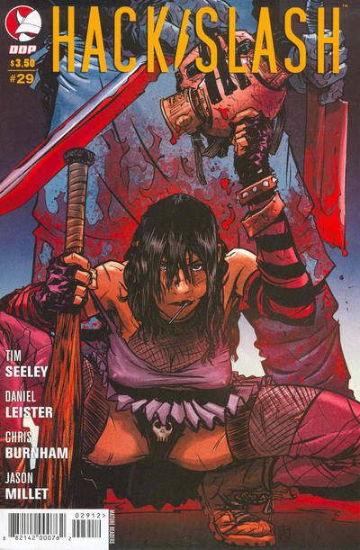 Cover for Hack/Slash: The Series (Devil's Due Publishing, 2007 series) #29 [Cover A Tim Seeley]