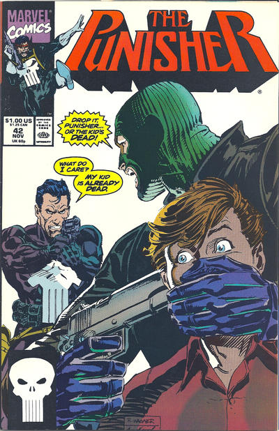 Cover for The Punisher (Marvel, 1987 series) #42 [Direct]