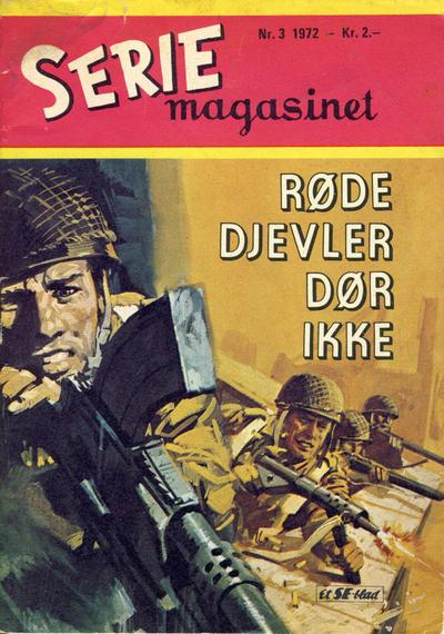 Cover for Seriemagasinet (Serieforlaget / Se-Bladene / Stabenfeldt, 1951 series) #3/1972