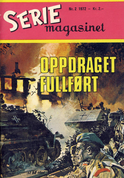 Cover for Seriemagasinet (Serieforlaget / Se-Bladene / Stabenfeldt, 1951 series) #2/1972