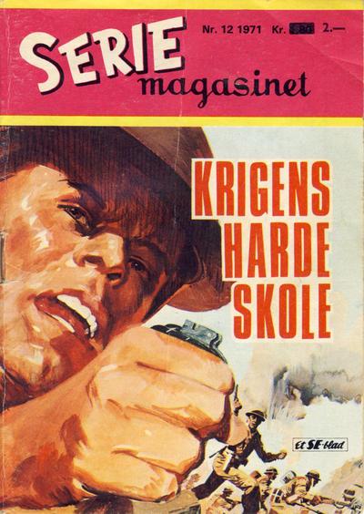 Cover for Seriemagasinet (Serieforlaget / Se-Bladene / Stabenfeldt, 1951 series) #12/1971