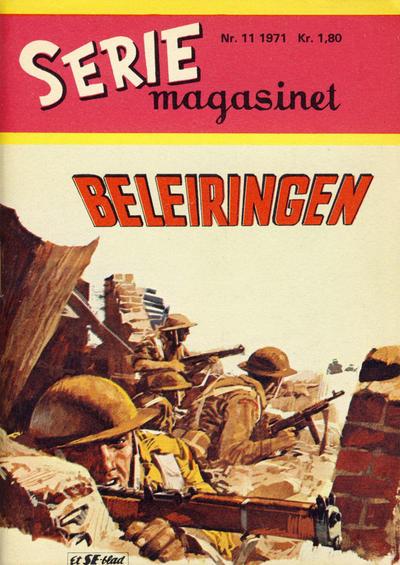 Cover for Seriemagasinet (Serieforlaget / Se-Bladene / Stabenfeldt, 1951 series) #11/1971