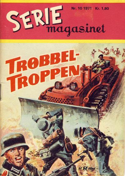 Cover for Seriemagasinet (Serieforlaget / Se-Bladene / Stabenfeldt, 1951 series) #10/1971