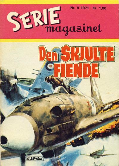 Cover for Seriemagasinet (Serieforlaget / Se-Bladene / Stabenfeldt, 1951 series) #9/1971