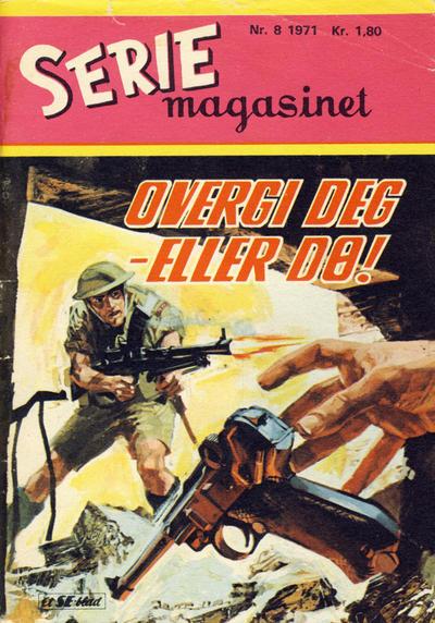 Cover for Seriemagasinet (Serieforlaget / Se-Bladene / Stabenfeldt, 1951 series) #8/1971