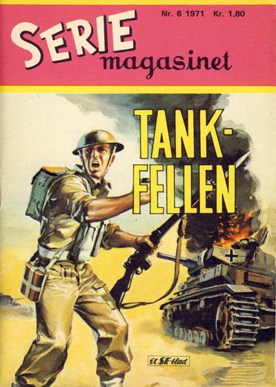 Cover for Seriemagasinet (Serieforlaget / Se-Bladene / Stabenfeldt, 1951 series) #6/1971