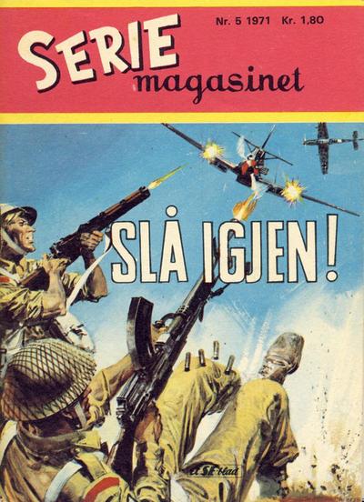 Cover for Seriemagasinet (Serieforlaget / Se-Bladene / Stabenfeldt, 1951 series) #5/1971