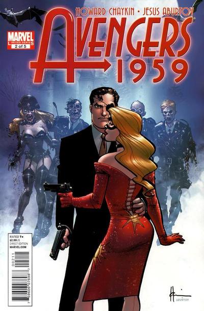 Cover for Avengers 1959 (Marvel, 2011 series) #2