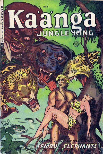 Cover for Ka'a'nga (Superior Publishers Limited, 1952 series) #17