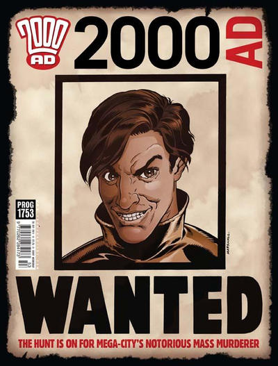 Cover for 2000 AD (Rebellion, 2001 series) #1753