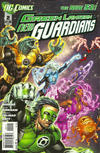 Cover for Green Lantern: New Guardians (DC, 2011 series) #2