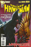 Cover for The Savage Hawkman (DC, 2011 series) #2