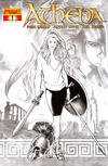 Cover Thumbnail for Athena (2009 series) #1 [Incentive Cover Renaud B&W]